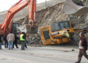 Salihli'de Korkunç İş Kazası